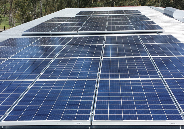 ES Electric & Solar Commercial Solar Installation 11