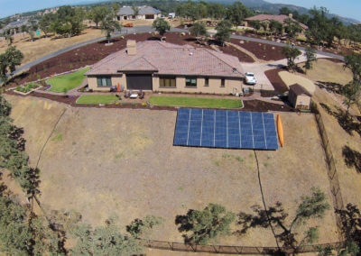 12.48kW ground mount solar Loomis, CA