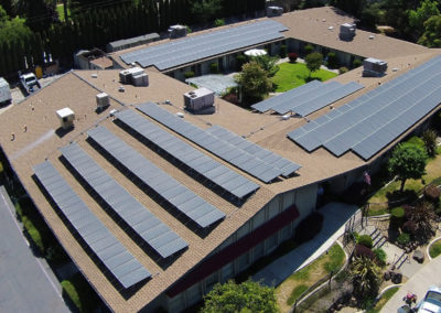 80kW roof mount commercial solar in Sacramento, CA